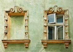window, somewhere in Ukraine