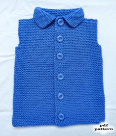 Pattern PDF - Toddler Vest. This is PDF PATTERN (an electronic document available for Instant Download) of how to make the Vest for Toddler. Not a physical Vest for sale.  This universal and stylish vest is must have for any wardrobe. It is designed to keep your little one warm and comfy during cool autumn and winter days. This vest makes a wonderful gift for your little one.  Available only in English!  All instructions are given in inches and cm.  Sizes: 1/2, 3/4 years.  Finished ...