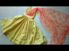 Girls Frock Design, Baby Dress Design, Kids Frocks Design, Baby Frocks Designs, Baby Girl Dress Patterns, Dresses Kids Girl, Dress Sewing Patterns, Pattern Sewing, Baby Frock Pattern