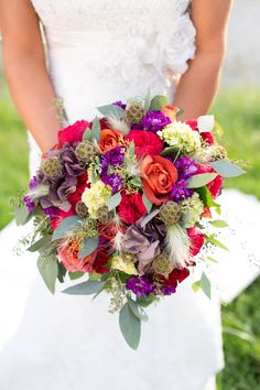 Bouquet by Posy Floral Designs Photo by Mandy Paige