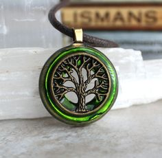 green tree of life necklace mens necklace mens jewelry boyfriend gift celtic necklace nature necklace elven jewelry womens gift Emerald Necklace, Emerald Jewelry, Gemstone Jewelry, Jewelry Necklaces, Necklaces For Men, Jewellery, Silver Necklaces, Pendant Jewelry, Celtic Necklace