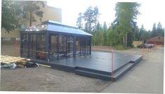 Glass Pavilion, Glass House, Lucca, Monet, Gazebo, Outdoor Decor, Home Decor, House Of Glass, Kiosk