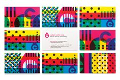 Best business card created for a client; designed by Design Ranch
