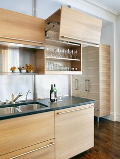 Kitchen Modern Cabinet Refacing Design, Pictures, Remodel, Decor and Ideas - page 8
