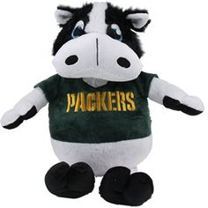 Green Bay Packers Reverse-A-Pal Football Plush Toy