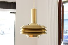 SUSPENSION EN LAITON 'CARL THORE' Lampe Applique, Ceiling Lights, Lighting, Home Decor, Brass, Light Fixture, Decoration Home, Room Decor, Lights