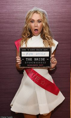 First time's the charm: This is the Aussie beauty's first marriage and she obviously wanted to go out with a bang