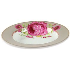 4efb0dd0c6f Pip Studio Floral Soup Bowl - Khaki ($14) ❤ liked on Polyvore featuring  home, kitchen & dining, dinnerware, neutral, colored dinnerware, pip studio  china, ...