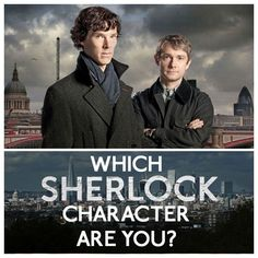"""Which """"Sherlock"""" Character Are You?"""