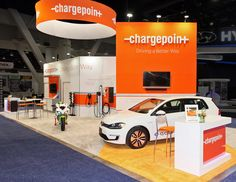 Exhibitor: ChargePoint Inc.  System: Skyline Exhibits  Design: Skyline Exhibits…