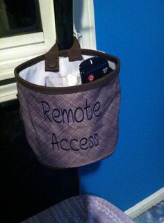 Remote Access - Store your TV remotes and more!   -Kristen F.