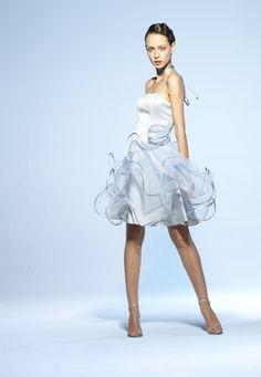 Collection soir Suzanne Ermann, robe Coraline Unie.