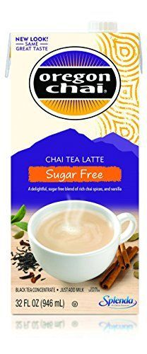 Find the best prices on Oregon Chai Caffeine Free Chai Tea Latte Concentrate Boxes (Pack of Liquid Chai Tea Concentrate, Decaffeinated Spiced Black Tea For Home Use, Café, Food Service and save money. Oregon Chai, Vanilla Chai Tea, The Chai, Eating For Weightloss, Tea Latte, Cafe Food, Gourmet Recipes, Sugar Free, Weight Loss