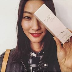 Love seeing beauty Jihye Park with our Balancing Elixir, which is your favorite Kat Burki product?  #Regram of @beauty5ives