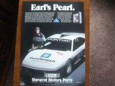 General Motors Parts Vintage Magazine Ads Earl's Pearl  The ultimate item to decorate the walls of a man cave