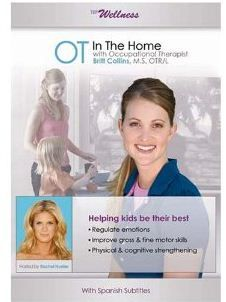 OT in the Home - DVD - - Pinned by #PediaStaff.  Visit http://ht.ly/63sNt for all our pediatric therapy pins