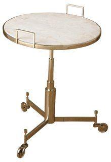 Edward Rolling Side Table