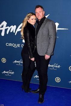 d56da69a0c5 Katherine Jenkins and husband Andrew Levitas enjoy romantic date night. Ola  JordanKatherine ...