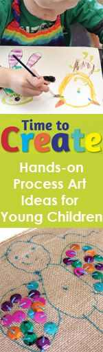 Time to Create: Hands-On Explorations in Process Art for Young Children. Available May 1st