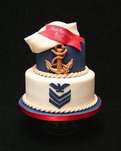Navy Retirement  on Cake Central