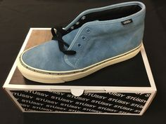 0e28d70366e389 Stussy X Vans OG Chukka LX Washed Niagra (US 9)  fashion  clothing