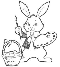Drawing Rabbit Realistic Coloring Pages