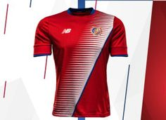 Costa Rica 2016 17 New Balance Home and Away Jerseys 555f6e76a