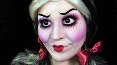 Zu Halloween wie eine gruselige Puppe schminken