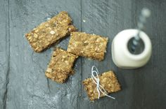 little monster: Coconut Oatmeal Raisin Bars