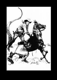 Tex Willer...by bonelli by ronaldguimaraes.deviantart.com on @deviantART
