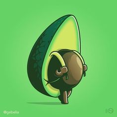 50 dark humor illustrations that will give you a reality check. Dark humor illustrations by Elia Colombo gives you a show of that. Learn To Sketch, Cute Avocado, Avocado Salad, Avocado Toast, Photo Images, Story Instagram, Design Graphique, Dope Art, Sashimi