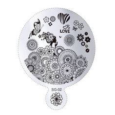 Nails - NAIL ART IMAGE STAMPING PLATE (SG-SERIES) for sale in Virginia (ID:219074383) Nail Art Images, Stamping Plates, Decorative Plates, Engagement Rings, Nails, Virginia, Jewelry, Fingernail Designs, Enagement Rings