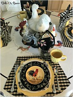 48 best rooster collection table images rh pinterest com