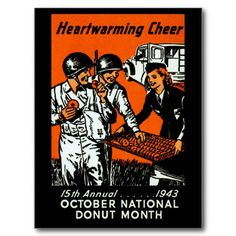 red cross doughnuts wwii - Google Search