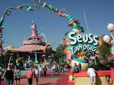 Seuss Landing @ Islands of Adventures in Orlando, Florida.