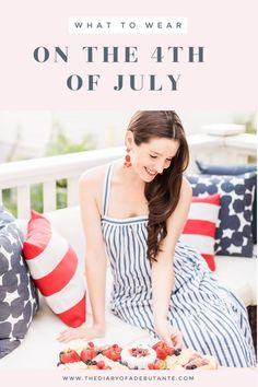 of July Style Guide: 10 Preppy of July Outfit Ideas for Women Black Girl Fashion, Preppy Fashion, 80s Fashion, 4th Of July Swimsuits, White Distressed Jeans, Fashion Background, Patriotic Outfit, 4th Of July Outfits, Fashion Wallpaper