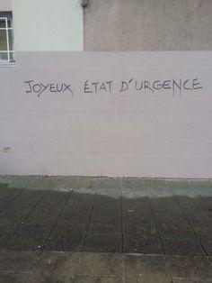 Joyeux Etat d'Urgence