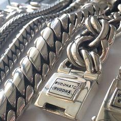 Big bracelets silver