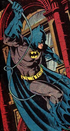 Batman. Detective Comics #527 (June 1983) Art by Dan Day (pencils), Pablo Marcos (inks) & Adrienne Roy (colors)
