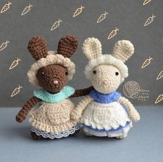 Crochet bunny pattern, Amigurumi bunny pattern, crochet rabbit pattern, crochet bunny family, crochet rabbit family