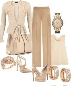 """""""Office Attire with a bit of Sparkle"""" by chicpetite on Polyvore"""