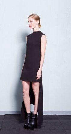 Athina Korda Collection 'AntiThesis' for A/W Collections Photography, High Neck Dress, Model, Black, Dresses, Fashion, Turtleneck Dress, Vestidos, Moda