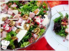 ΓΙΟΡΤΙΝΗ ΣΑΛΑΤΑ!!! | Νόστιμες Συνταγές της Γωγώς