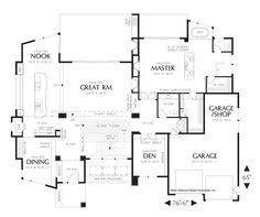 House Plan 1410 -The Norcutt