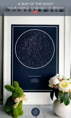Esta web te permite crear tu propio mapa de estrellas de aquella noche especial | Traveler