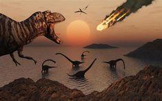 G. Cuvier, gran defensor del fijismo, afirmaba que los dinosaurios se extinguieron debido a un gran meteorito, al contrario que los defensores de las teorías transformistas que afirmaban que fueron eliminados por selección natural