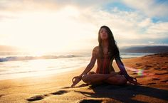 Yoga, Water, Sun, Light