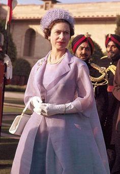 India, 1961  Purple Dress
