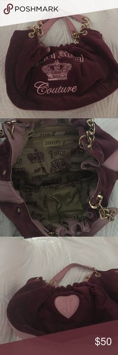 Juicy Couture handbag Juicy couture handbag. Authentic. Barely used Juicy Couture Bags Shoulder Bags