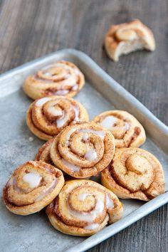 Challah dough cinnamon rolls